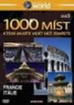 1000 míst, která musíte vidět než zemřete 3. - Francie, Itálie - DVD