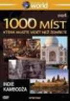 1000 míst, která musíte vidět než zemřete 4. - Indie, Kambodža - DVD