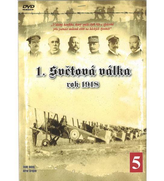 1.Světová válka díl 5- rok 1918 - DVD