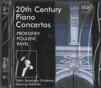 20th century piano concertos - CD