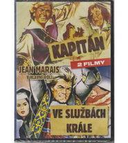 2x Jean Marais - Kapitán + Ve službách krále - DVD
