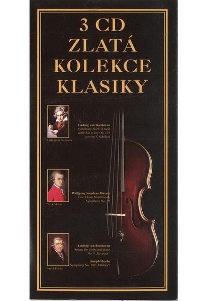 3 CD Zlatá kolekce klasiky