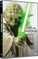 3 DVD Star Wars (I, II, III)