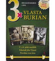 3X Vlasta Burian - DVD