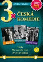 3x Česká komedie VII - Tetička / Muž z prvního století / Divotvorný klobouk DVD