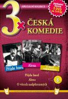 3x Česká komedie VIII - Přijdu hned / Alena / O věcech nadpřirozených DVD