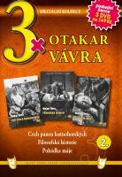 3x Otakar Vávra II. - Cech panen kutnohorských / Filosofská historie / Pohádka máje DVD