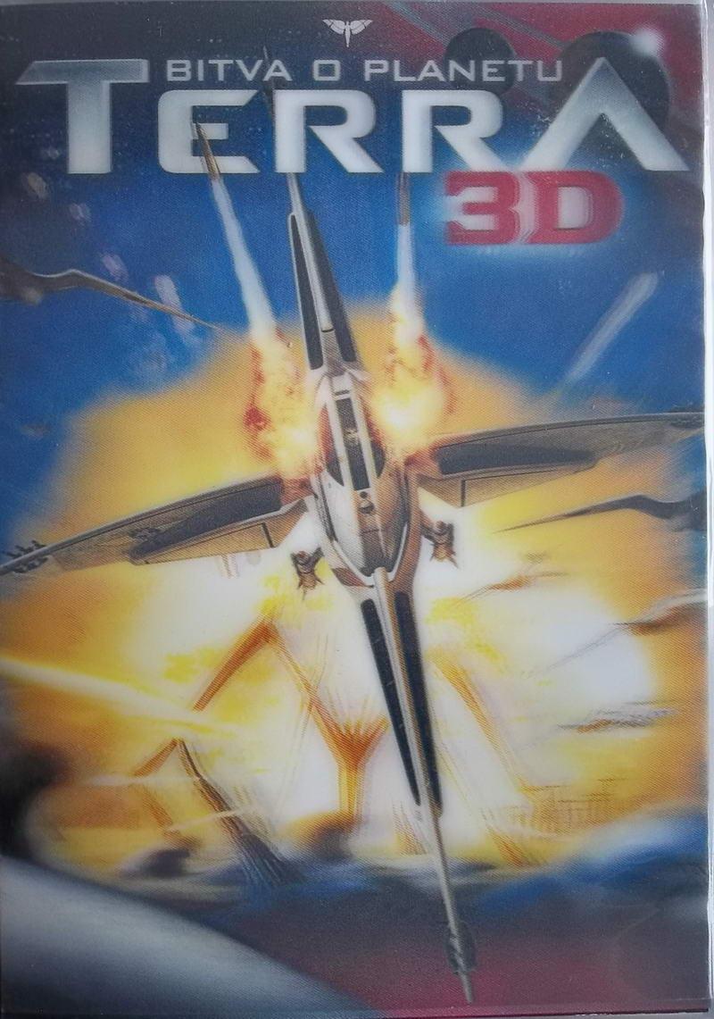 Bitva o planetu Terra 3D - DVD bazarové zboží