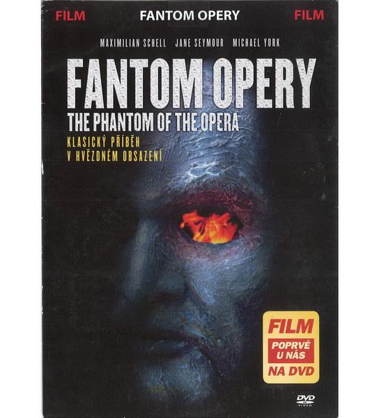 Fantom opery (Maximilian Schell, Jane Seymour) - (původní znění, cz titulky) DVD /pošetka/