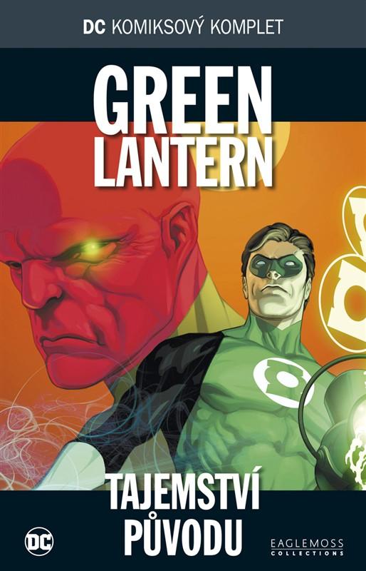 DC komiksový komplet Green Lantern - Tajemství původu -bazarové zboží