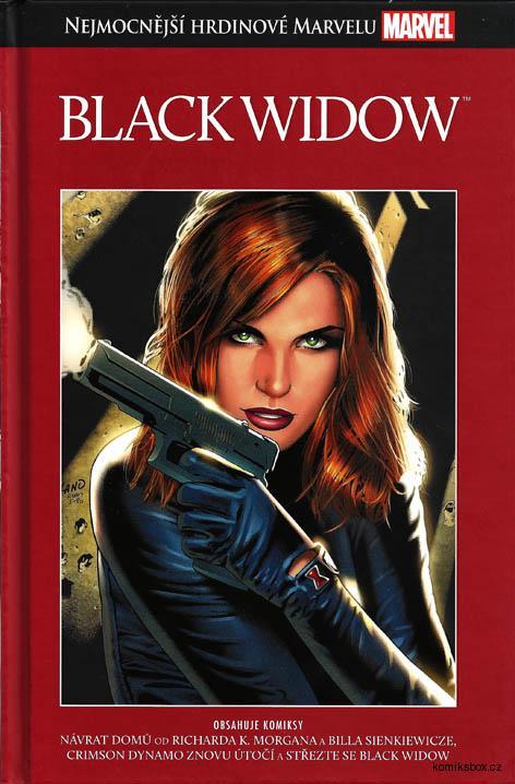Nejmocnější hrdinové Marvelu - Black Widow (hřbet13) - bazarové zboží