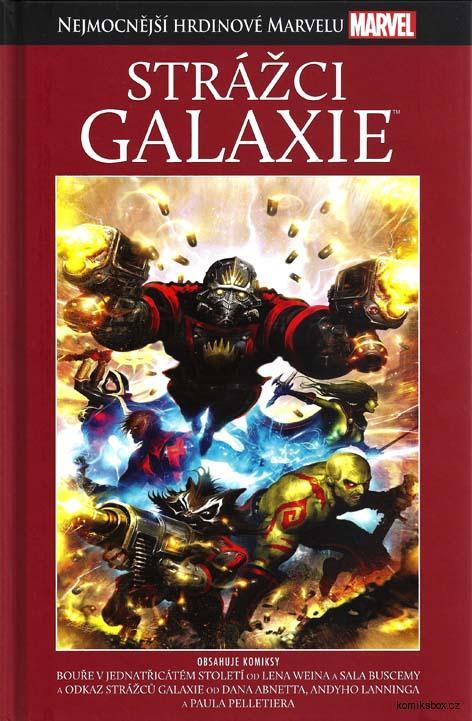 Nejmocnější hrdinové Marvelu - Strážci Galaxie ( hřbet č. 14) - bazarové zboží