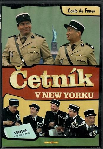 Četník v New Yorku - DVD plast