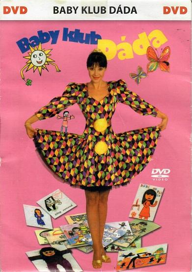 Baby klub Dáda - DVD pošetka