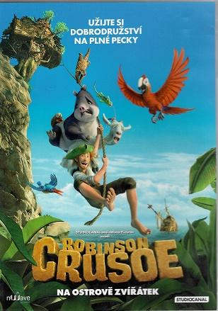 Robinson Crusoe: Na ostrově zvířátek - DVD plast