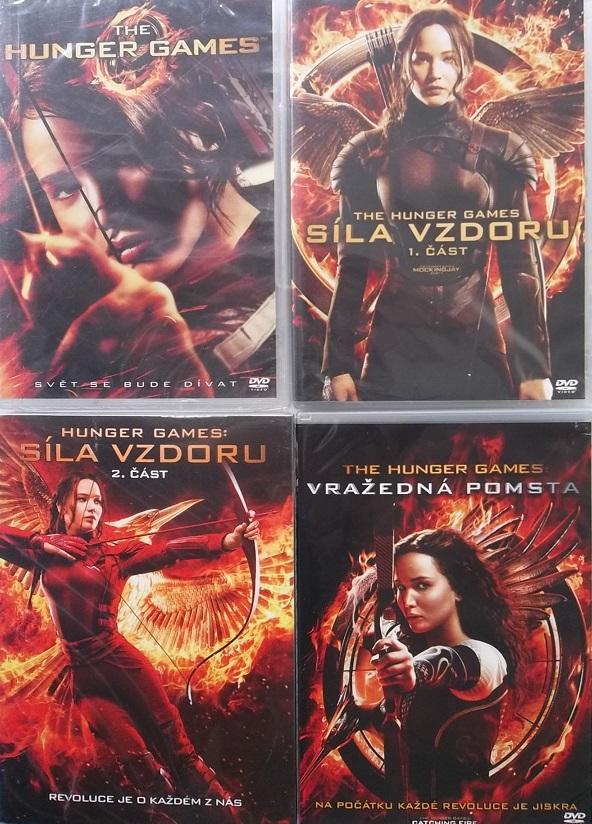 Kolekce Hunger Games 4DVD