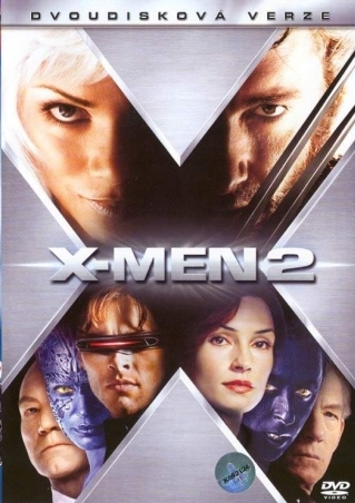 X-Men 2 - Dvoudisková verze - 2xDVD /plast/ bazarové zboží