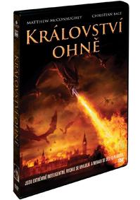 Království ohně DVD plast - bazarové zboží