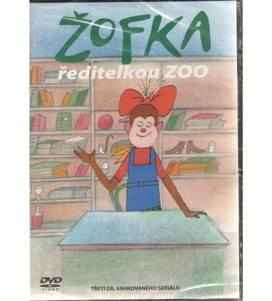 60 večerníčků - 12 - Žofka ředitelkou Zoo - DVD