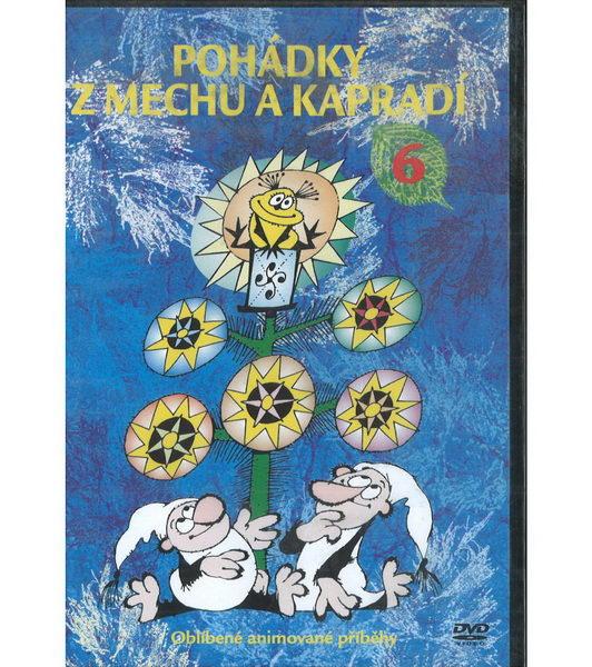 60 večerníčků - 46 - Pohádky z mechu a kapradí 6 (plast) - DVD