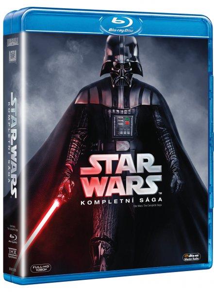 9 BD Star Wars - Complete Saga (9 BD Star Wars - Complete Saga)