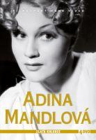 Adina Mandlová - Zlatá kolekce 4 DVD