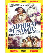 Admirál Ušakov: Hrdina Černého moře - DVD pošetka