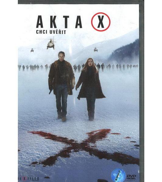 Akta X film - DVD