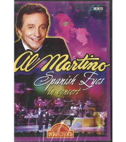 Al Martino - Spanish Eyes in concert - DVD
