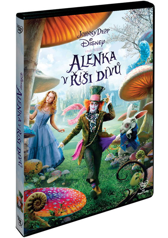 Alenka v říši divů DVD