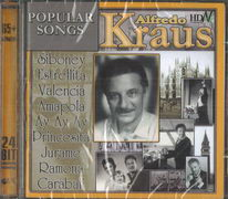 Alfredo Kraus - Popular song - CD