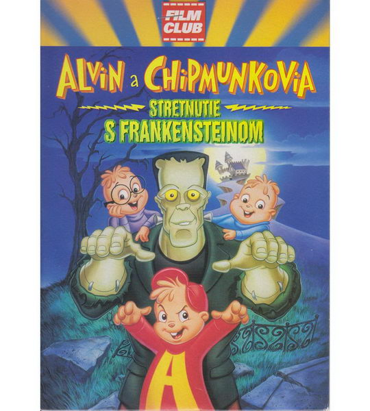 Alvin a Chipmunkové - Setkání s Frankensteinem - DVD