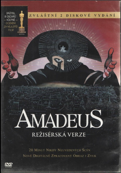 Amadeus - Režisérská verze - DVD