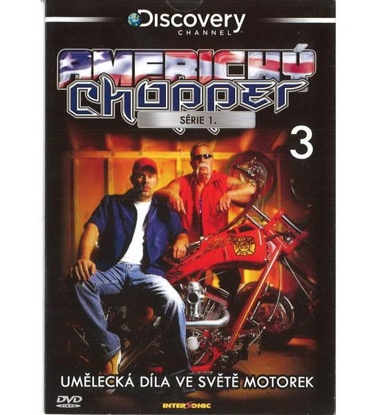 Americký Chopper série 1. díl 3 - DVD