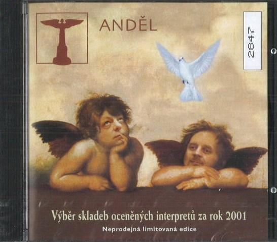Anděl - výběr skladeb oceněných interpetů za rok 2001 - CD