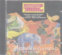 Animals in classical music - CD