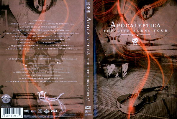 Apocalyptica - The Life Burns Tour - DVD
