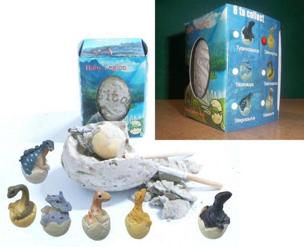 Archeologická sada - Dinosauří vejce - Deinonychus