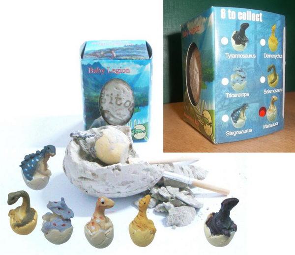 Archeologická sada - Dinosauří vejce - Maiasaurus