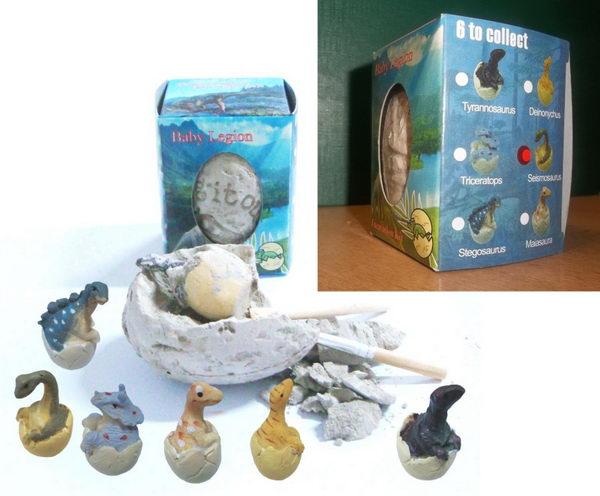 Archeologická sada - Dinosauří vejce - Seismosaurus