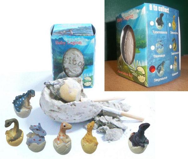 Archeologická sada - Dinosauří vejce - Stegosaurus