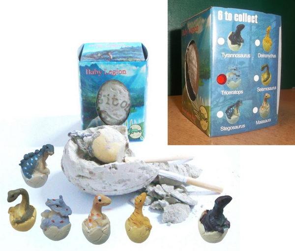 Archeologická sada - Dinosauří vejce - Triceratops