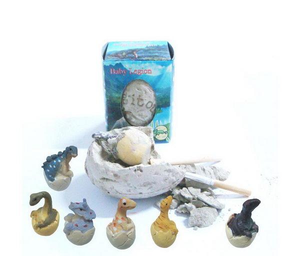Archeologická sada - Dinosauří vejce - 6 KS