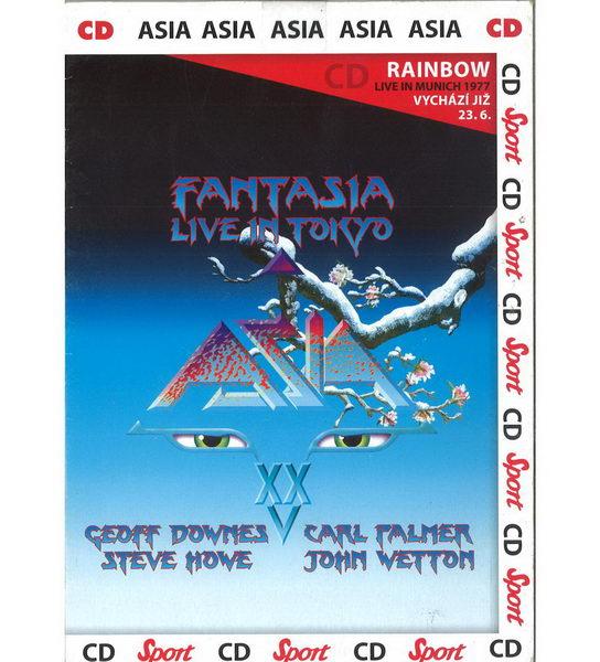 Asia - Fantasia Live in Tokyo - CD