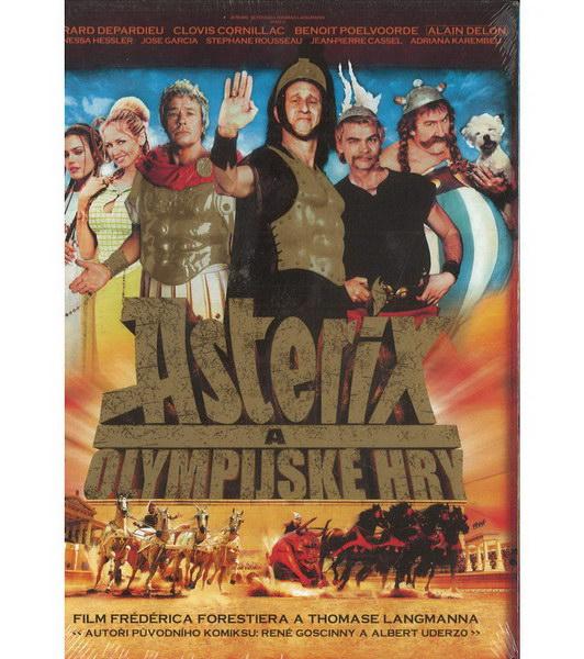 Asterix a Olympijské hry (plast) - DVD