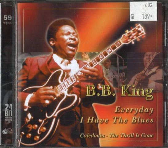 BB King - Every day I have the blues - CD