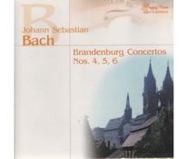 Bach - BDandenburg concertos no. 1, 2, 3 - CD