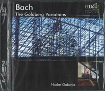 Bach - The Golberg variations - CD