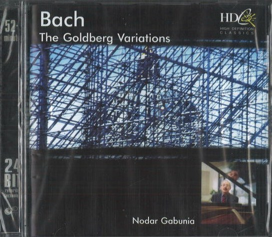 Bach - The Golberg variations - CD