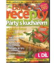 Báječné recepty - Párty s kuchařem 1. díl - DVD
